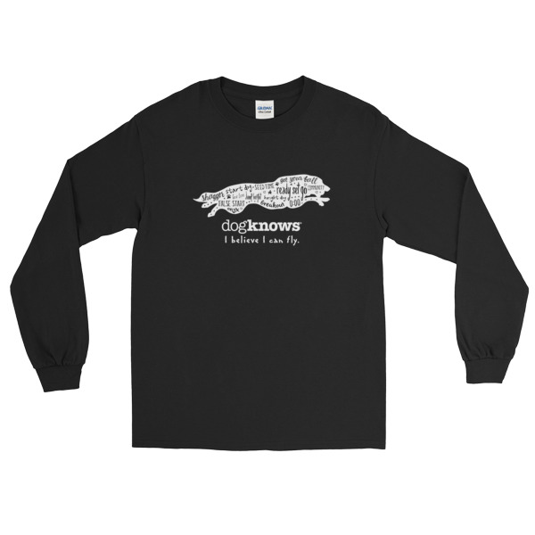 Border Collie Flyball Long Sleeve Tee