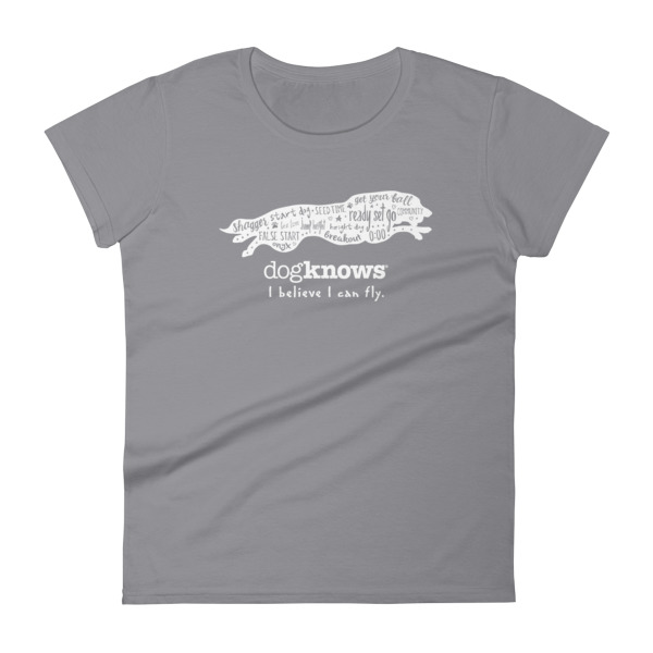 Border Collie Flyball Womens Tee
