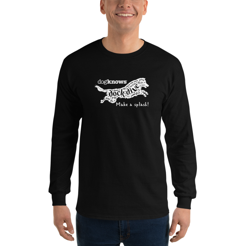 Make a Splash! Dock Diving Long Sleeve Tee