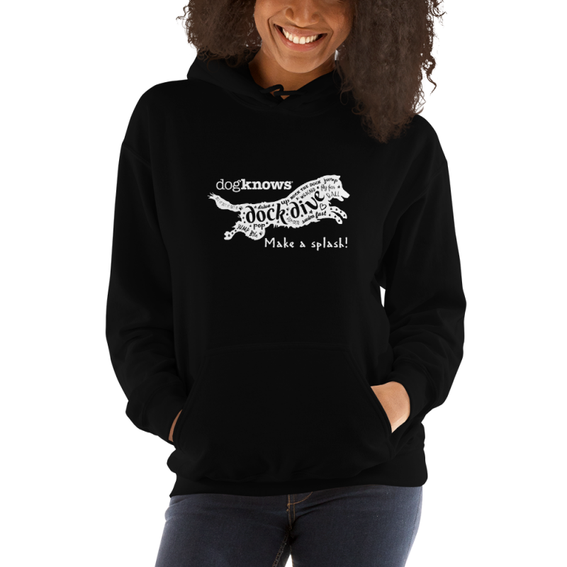 Make a Splash! Dock Diving Hoodie