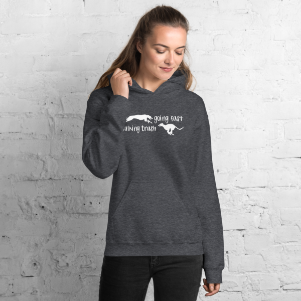 Going Fast, Talking Trash Flyball Hoodie
